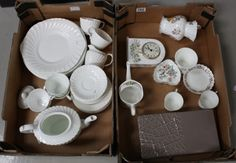 Collectors & General Auction – Lot 153 – A collection of quality undecorated…