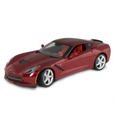 1 18 Scale Corvette Stingray - Red Die Cast Provocative, purposeful and  sculpted for c6be710e4b