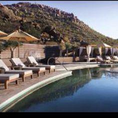 Dove mountain spa. Ritz Carlton Arizona