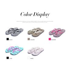 2015 the new non-slip flat flip flops sandals and slippers women sandals leopard >>> Read more  at the image link.
