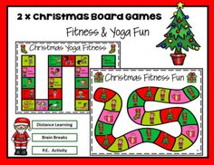 Included in this resource are two Christmas themed games that can be played multiple ways. Both games are active games and easy to use. Perfect for all age levels. The games are perfect for PE in the Classroom, Distance Learning, and for those Brain Breaks when your students need to get the wiggles ...
