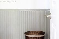 6 Creative And Inexpensive Tricks: Wood Wainscoting Bathroom faux wainscoting fireplaces. Beadboard Wainscoting, Wainscoting Nursery, Dining Room Wainscoting, Wainscoting Panels, Wainscoting Ideas, Wainscoating Bathroom, Layout, Living Room Remodel, Kitchen Remodel