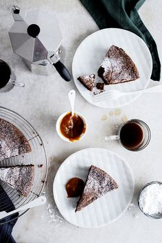 bellevue chocolate cake with salted caramel