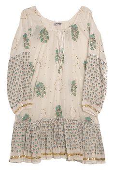 Juliet Dunn Gypsy Frill Dress - What's New