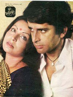 rakhee gulzar and shashi kapoor Shashi Kapoor, Bollywood Pictures, Rare Pictures, Rakhi, Film Posters, Beautiful Soul, Looking Back, Bollywood Actress, Vintage Posters