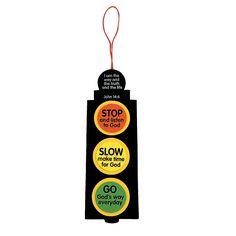 Inspirational Traffic Light Craft Kit - OrientalTrading.com