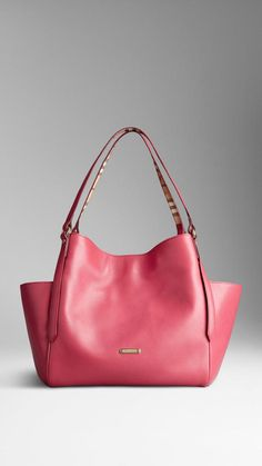 717b7db39fd8 Burberry Small Leather Tote Bag on shopstyle.com Burberry 2014