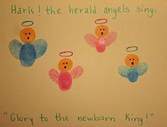 Thumbprint angels