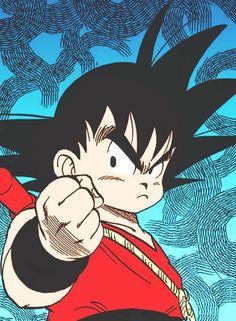 Goku from Dragon Ball Dragon Ball Z, Goku Dragon, Manga Dragon, Akira, Goku Wallpaper, D Mark, Kid Goku, Girls Anime, Manga Girl