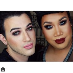Manny Mua & Pactrickkstar ❤️❤️❤️❤️ love these two