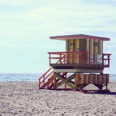 Lifeguard at South Beach Miami | Florida