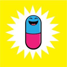 happy pill by Matt Jennings #flyingfortress