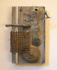 Sonoma IV found object assemblage by tristanfrancis on Etsy