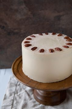Spiced Pumpkin Layer Cake with Butterscotch Pecan Filling | Annie's Eats by annieseats, via Flickr