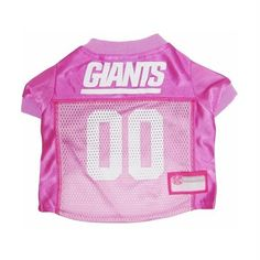 2e9d9dd83d6 Get your dog ready for the game with this officially licensed NFL pink dog  jersey.