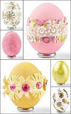 Dress Up egg shells with craft supplies by @Kimberly Peterson Peterson Peterson Peterson Kesti #Easter