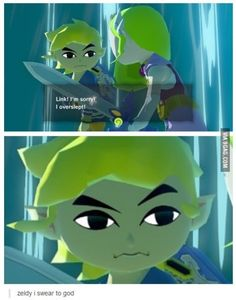 The best face from Wind Waker