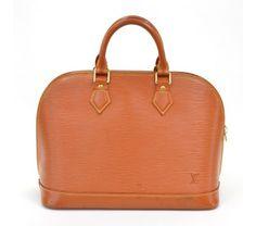 Louis Vuitton Cipango Gold Epi Alma Bag