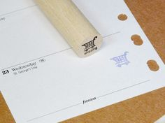 Japanese Rubber Stamp for FilofaxHobonichiErin by CoolJapanSTAMP