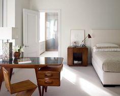 Decoratie Slaapkamer Muur : Bed met achterbouw muur decoratie boven bed slaapkamer