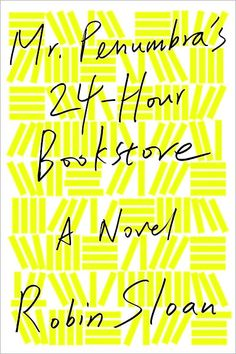Mr. Penumbra's 24-Hour Bookstore by Robin Sloan. A tale of global conspiracy, complex code-breaking, high-tech data visualization, young love, rollicking adventure, and the secret to eternal life-mostly set in a hole-in-the-wall San Francisco bookstore.