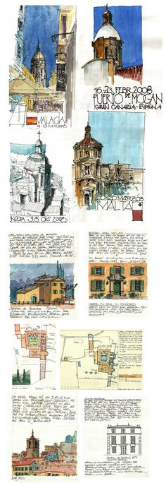 Travel Journal - Jochen Schittkowski #urban #sketch | https://www.flickr.com/photos/127217696@N02/with/17074447880/