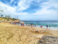 Divers Cove Beach in Laguna Beach Orange County Beaches, Laguna Beach, Mom Blogs, Family Activities, California, Water, Summer, Outdoor, Gripe Water