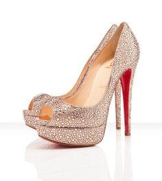 gorgeous bride shoes. love.