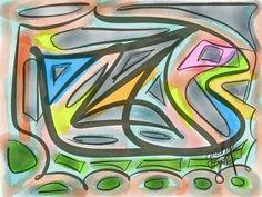 Mujer Pato, glicee on canvas since $70.00  Para adquisición: arteracines@yahoo.es
