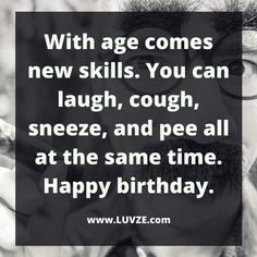 Are you looking for the best happy birthday wishes that are funny? Here are 165 birthday messages that make anyone laugh. Funny Happy Birthday Messages, Free Happy Birthday Cards, Happy Birthday Typography, Birthday Quotes For Him, Birthday Wishes Quotes, Funny Birthday Cards, Birthday Ideas, Funny Birthday Greetings, Birthday Funnies