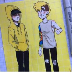 aww i love this Tyler And Josh, Tyler Joseph, Twenty One Pilots Drawing, Clique Art, Aviation Quotes, Emo Bands, Staying Alive, The Twenties, Sketches