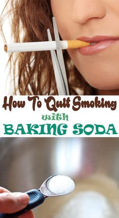 How to quit smoking with baking soda