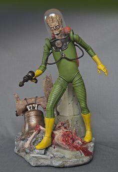 MARS ATTACKS 1/6 scale resin - Ready to Display! | Toys & Hobbies, Models & Kits, Monster | eBay! Aliens, Mars Attacks, Space Toys, Science Fiction, Deadpool, Sci Fi, Display, Model Kits, Superhero