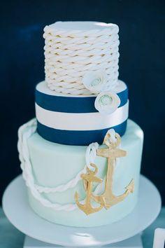 Image result for nautical birthday cake