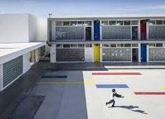 Resultado de imagem para Colegio Nueva Era Álamo / HFS Arquitectos + MN Arquitectos