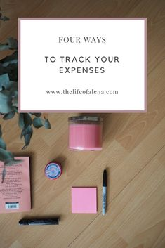 How to track your expenses. How to track your personal finances. How to track your spending. Four ways to track your expenses. From tracking your expenses to saving money.