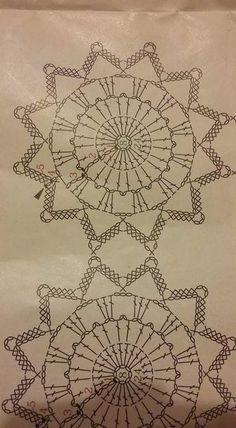 This Christmas Angel Ornaments Art Au Crochet, Crochet Ball, Crochet Motifs, Crochet Diagram, Crochet Chart, Thread Crochet, Crochet Doilies, Crochet Flowers, Crochet Snowflake Pattern