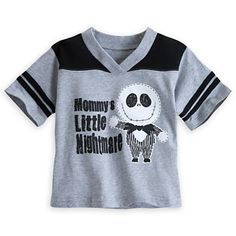 Jack Skellington Athletic Tee for Boys--I want this  and yes Beastie could be the one to wear it.