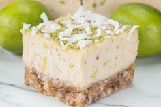 These Dairy-Free Key Lime Coconut Bars Are A Must For Your Next Summer Gathering