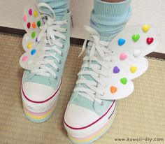 Gonna make these soon!!! - Idea by Kaila from http://kawaii-diy.com and http://the.rainbowholic.me/