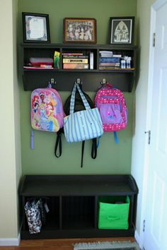 Entryway Bench and Storage shelf | Do It Yourself Home Projects from Ana White