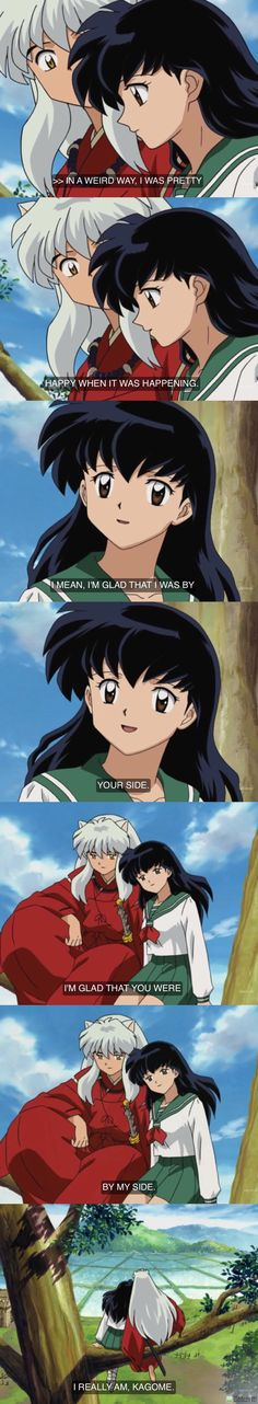 Glad that I was by your side. ❤️❤️❤️ kagome and InuYasha