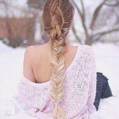 dutch fishtail combo braid