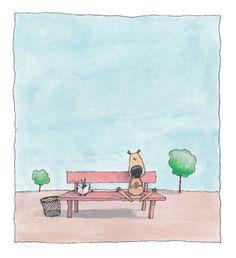 """The beautifully sensitive, minimalist """"The Flat Rabbit"""" by Bárður Oskarsson"""