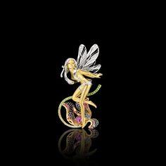 Fairy brooch