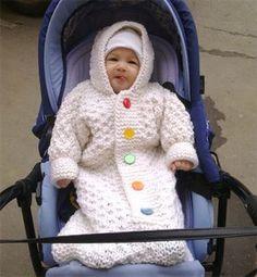 Örgü Bebek Tulumu Yapılışı