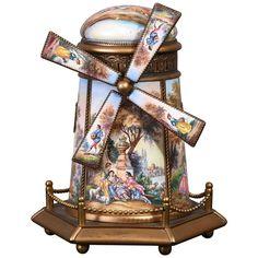 Modern Decorative Boxes, Decorative Objects, Windmill Blades, Antique Music Box, Dutch Windmill, Magical Jewelry, Keep Jewelry, Mandolin, Casket