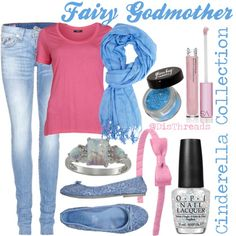 """Fairy Godmother"" by gilly2878 on Polyvore"