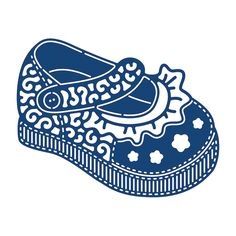 Tattered Lace Metal Dies - Baby Girl Shoe