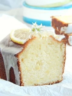 recipes whole 30 Lemon Desserts, Healthy Desserts, Glaze For Cake, Plum Cake, Pan Dulce, Almond Cakes, Bakery Recipes, Desert Recipes, Cooking Time